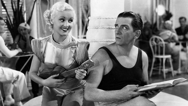 The Gay Divorcee (1934) Betty Grable and Edward Everett Horton