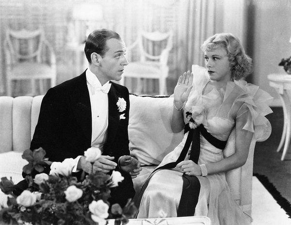 The Gay Divorcee (1934) Ginger Rogers and Fred Astaire