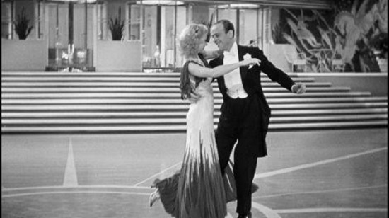 The Gay Divorcee (1934) Ginger Rogers and Fred Astaire dance The Continential