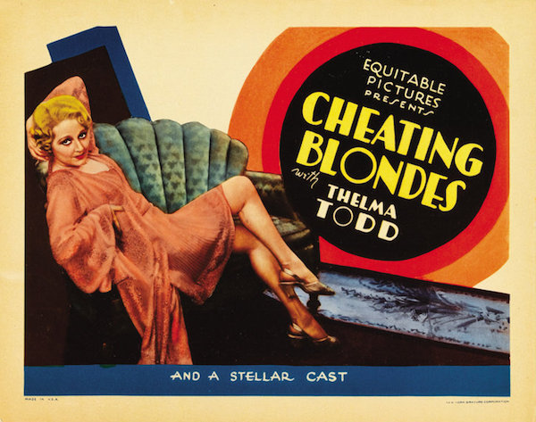 cheating blondes movie poster