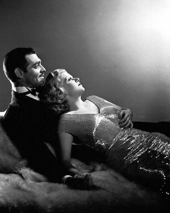 Clark Gable Jean Harlow