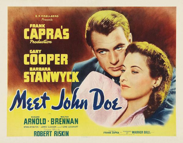 meet john doe movie poster