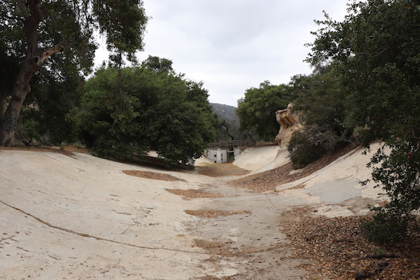 """Corriganville Ranch """"lake"""" used for films such as The African Queen (1951) and Creature From the Black Lagoon (1954)"""