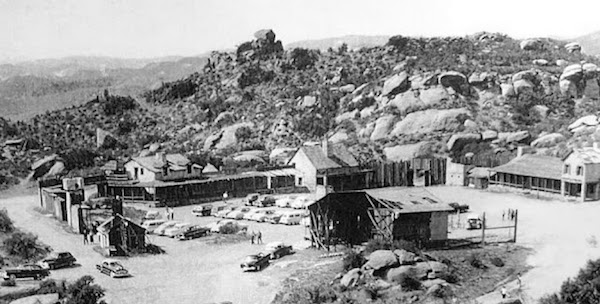 Set for Fort Apache (1948) Corriganville Ranch