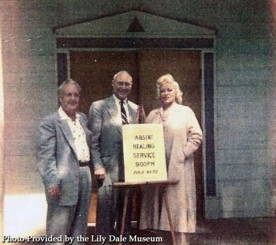 Mae West with Jack Kelly (center)