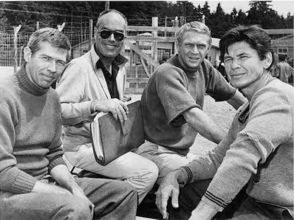 The Great Escape-James Coburn-John Sturges-Steve McQueen-Charles Bronson
