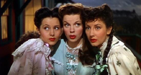 The Harvey Girls (1946) Cyd Charisse, Judy Garland and Virginia O'Brien