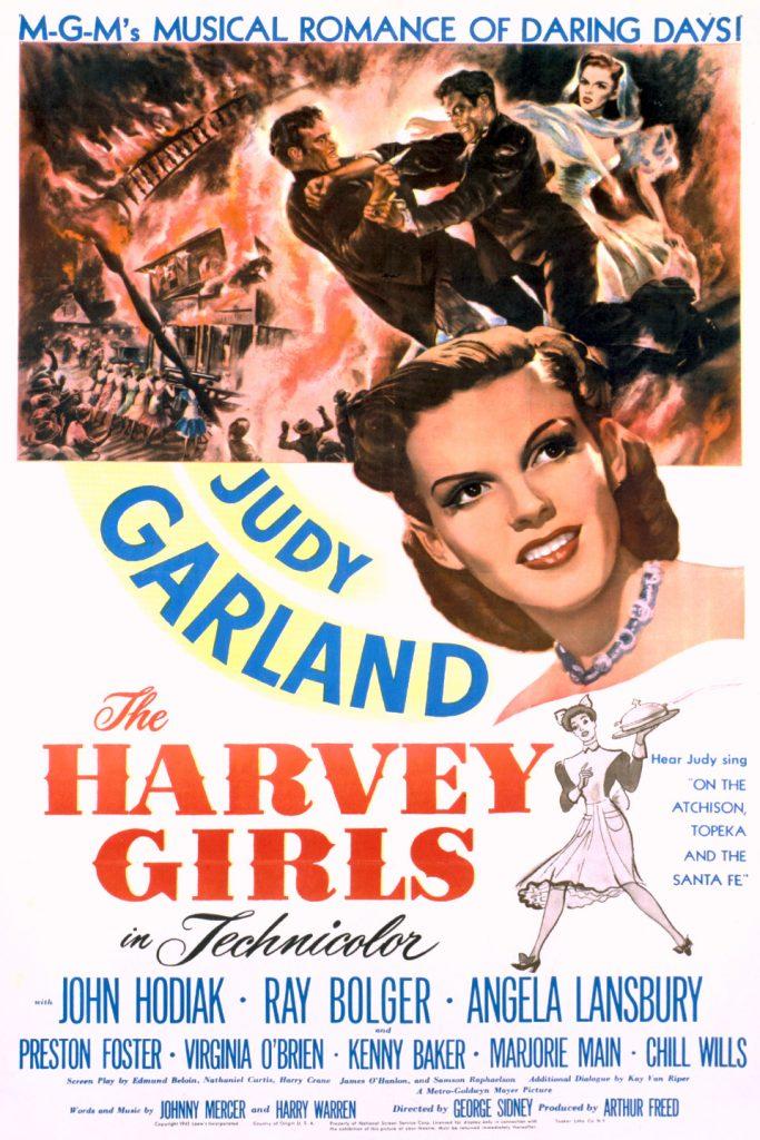The Harvey Girls (1946) Movie Poster