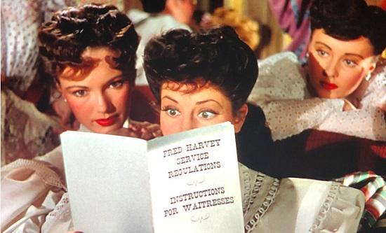 The Harvey Girls (1946) Virginia O'Brien