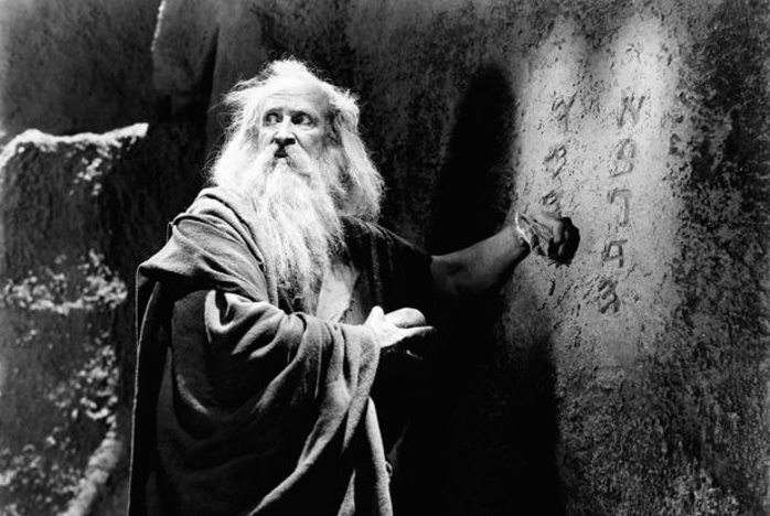 Theodore Roberts as Moses in The Ten Commandments (1923)