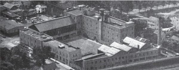 vitagraph studios aerial view