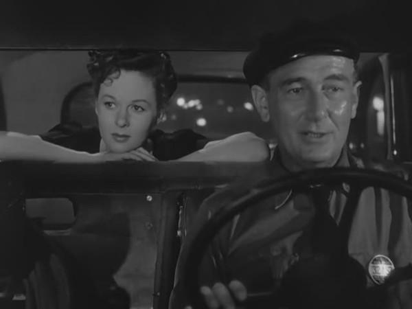 Susan Hayward and Paul Lukas in Deadline at Dawn (1946)