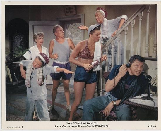 Dangerous When Wet (1953) Jack Carson Liquapep phone