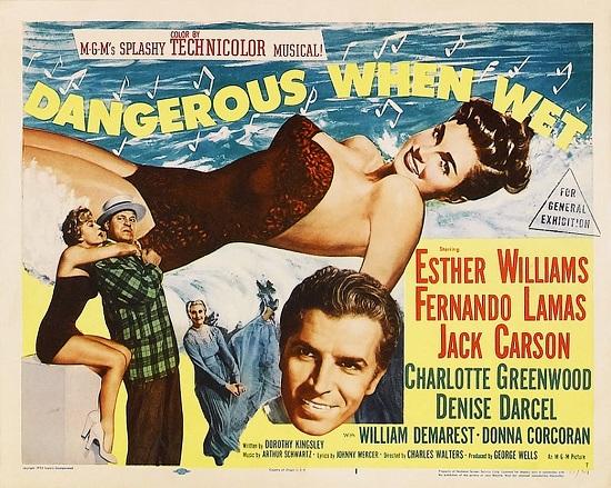 Dangerous When Wet (1953) Movie Poster