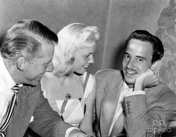 Doris Day and second husband George Weidler
