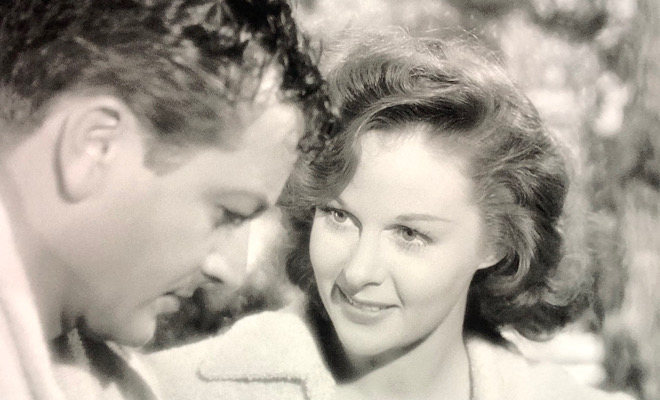 Robert Young and Susan Hayward in They Won't Believe Me (1947)