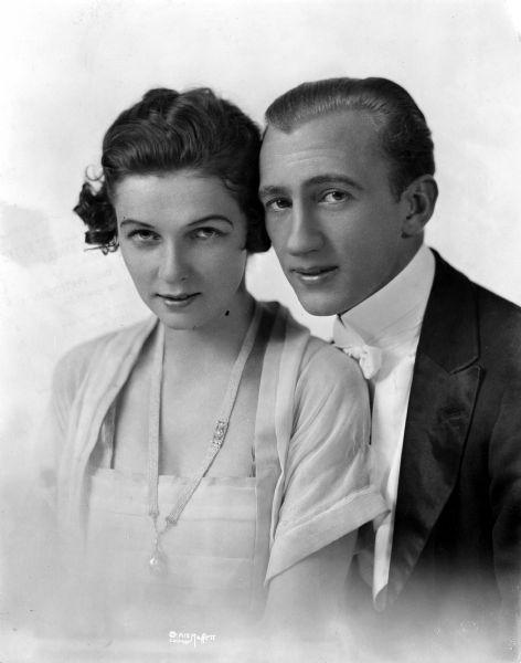 A young Vernon & Irene