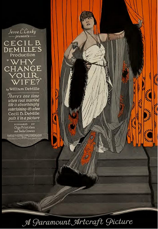 Gloria Swanson Why Change Your Wife? (1920) Movie Poster