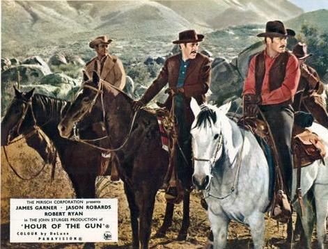 James Garner, Jason Robards and Robert Ryan in Hour of the Gun (1967)