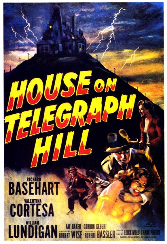 House on Telegraph Hill (1951) Movie Poster