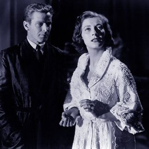 Richard Basehart and Valentina Cortese in House on Telegraph Hill (1951)