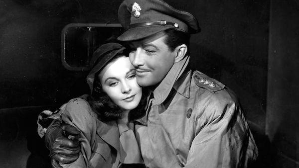 Vivien Leigh and Robert Taylor in Waterloo Bridge 1940