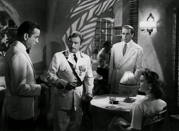 Casablanca - Humphrey Bogart, Claude Rains, Paul Henreid, Ingrid Bergman