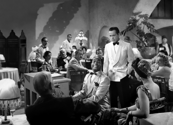 Casablanca - Humphrey Bogart and Dooley Wilson