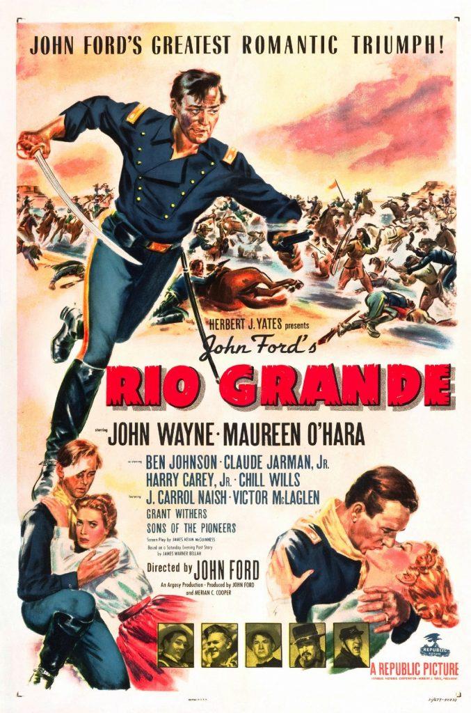 Rio Grande (1950) Movie Poster