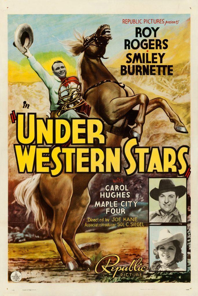 Under Western Stars (1938) Movie Poster