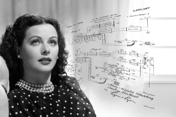 Hedy Lamarr Frequency hopping Invention Patent