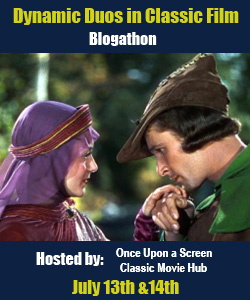 Dynamic Duos in Classic Film Blogathon: Olivia de Havilland and Errol Flynn
