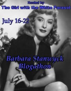 Barbara Stanwyck Blogathon